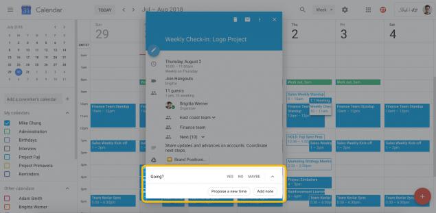 Google Calendar programmazione riunioni (1)