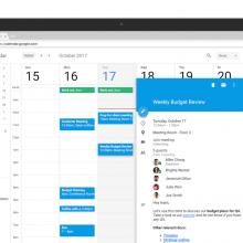 Google Calendar programmazione riunioni