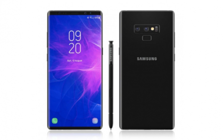 Samsung Galaxy Note 9 render lug 1