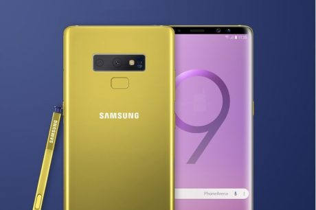 Samsung Galaxy Note 9 si mostra in due scatti reali