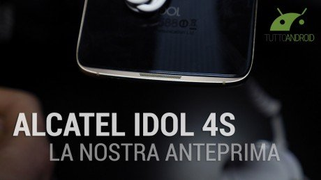 Alcatel idol 4s copertina