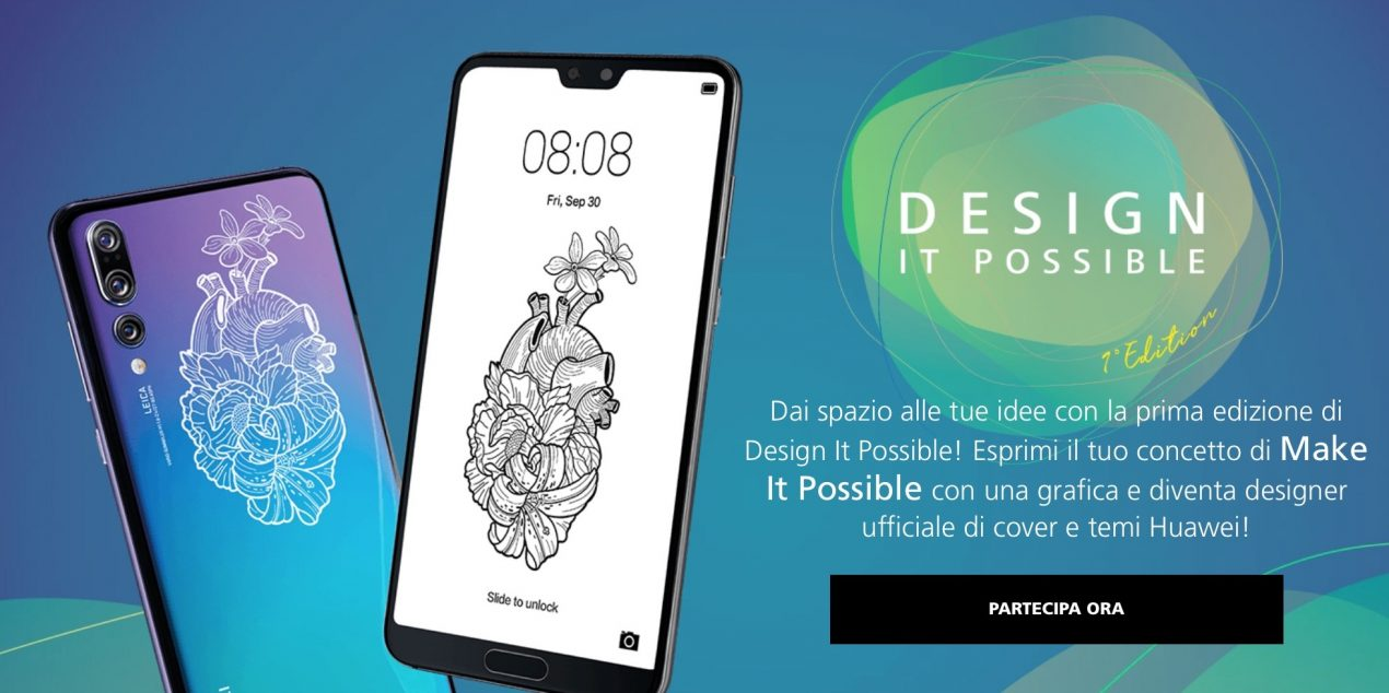 huawei concorso design it possible