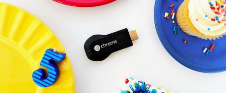Google chromecast cinque anni