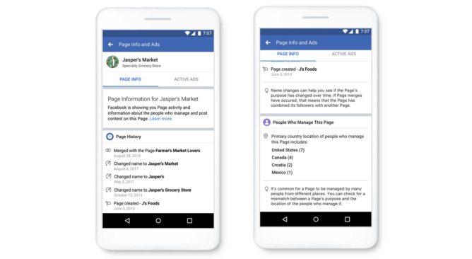 Facebook trasparenza pagine (1)