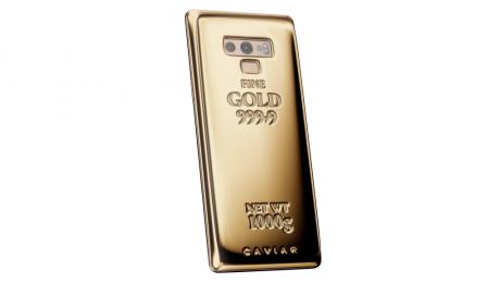 Galaxy Note 9 Fine Gold Edition 1