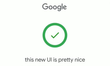 Google inserimento vocale UI