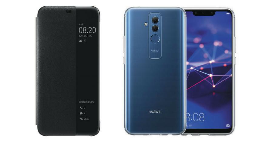 Ecco le custodie ufficiali di Huawei Mate 20 Lite
