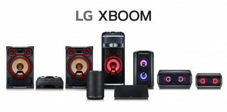LG ufficializza gli speaker XBOOM (anche con AI) che present