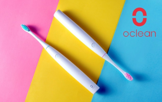 Oclean Air è lo spazzolino elettrico smart più compatto al mondo