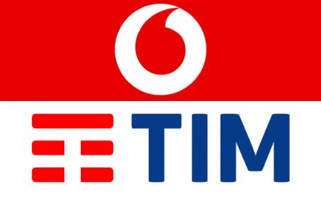 Vodafone TIM logo