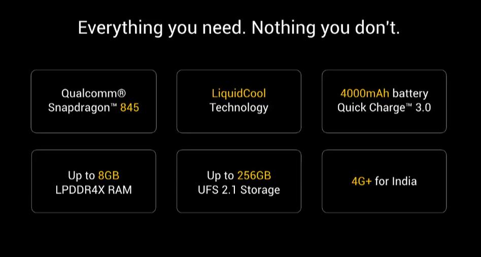 Xiaomi presenta POCOPHONE F1, il più veloce da 329€