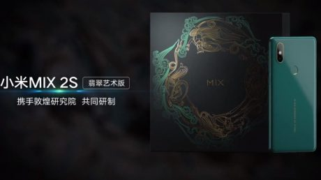 Xiaomi Mi Mix 2S verde smeraldo 4