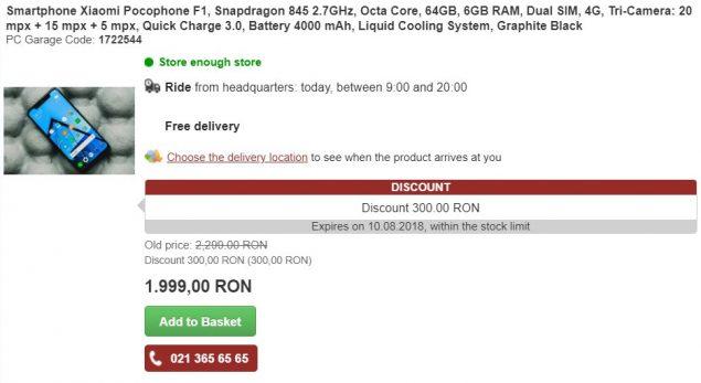 Xiaomi POCOPHONE F1 specifiche e prezzo (1)