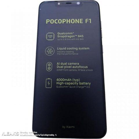 Xiaomi Pocophone F1 foto caratteristiche (1)