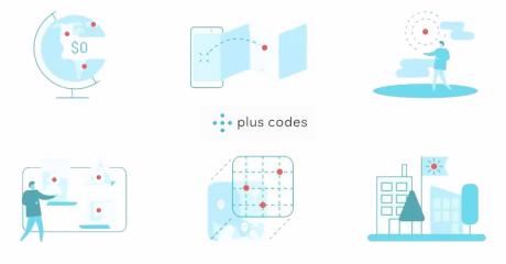 Google maps plus codes