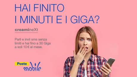 Poste mobile creami next 2
