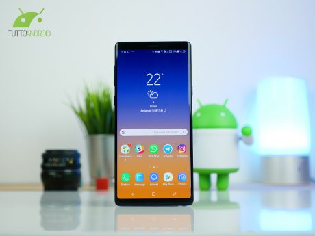 Samsung Galaxy Note 9 riceve la seconda beta di Android 9 Pi