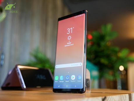 Il porting delle app di Samsung Galaxy Note 9 è già qui