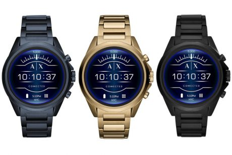 Armani Exchange Connected lancia il proprio smartwatch con W