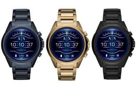 Armani Exchange Connected lancia il proprio smartwatch con W