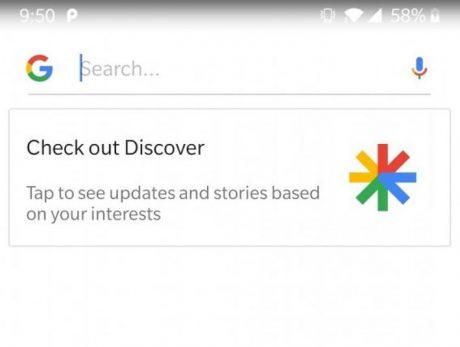 Google Discover cop