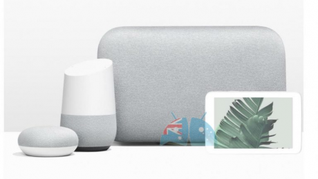 Google Home Updated Family with Home Hub 768x570