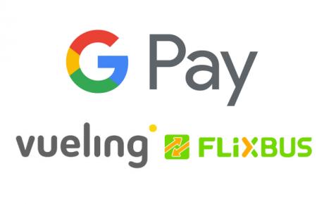 Vueling e Flixbus integrano Google Pay, con funzione di paga