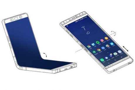 Here are the two screen sizes of Samsungs foldable Galaxy F