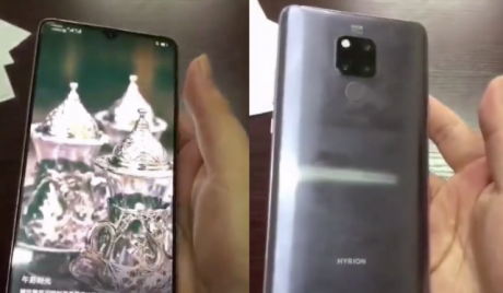 Huawei Mate 20 compare in un video hands on