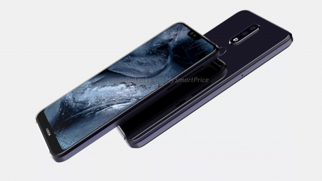 Nokia 7.1 Plus cad render 3