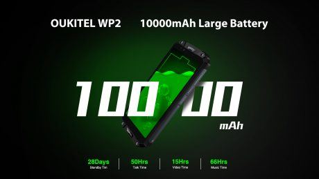 OUKITEL WP2 battery