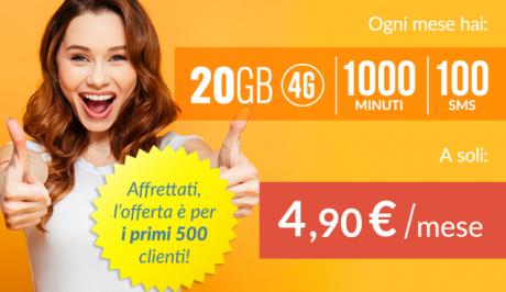 Optima Mobile lancia due nuove offerte 4G, Optima Comfort e