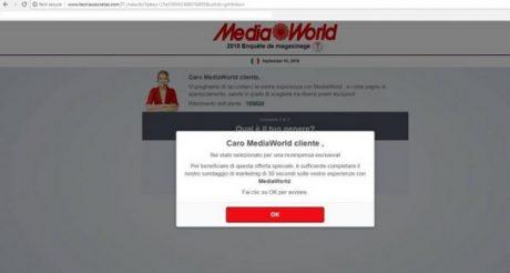 Truffa Mediaworld 1