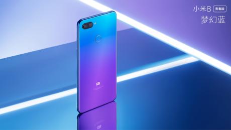 Xiaomi Mi 8 Lite Youth Fantasy Blue