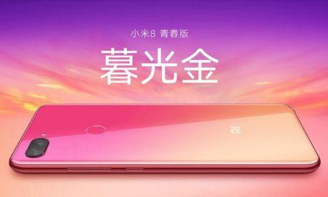Xiaomi Mi 8 Youth Twilight Gold1