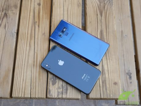 Galaxy note 9 vs iphone xs max 4