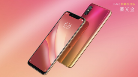 Xiaomi Mi 8 Screen Fingerprint Edition è ufficiale: un Mi 8