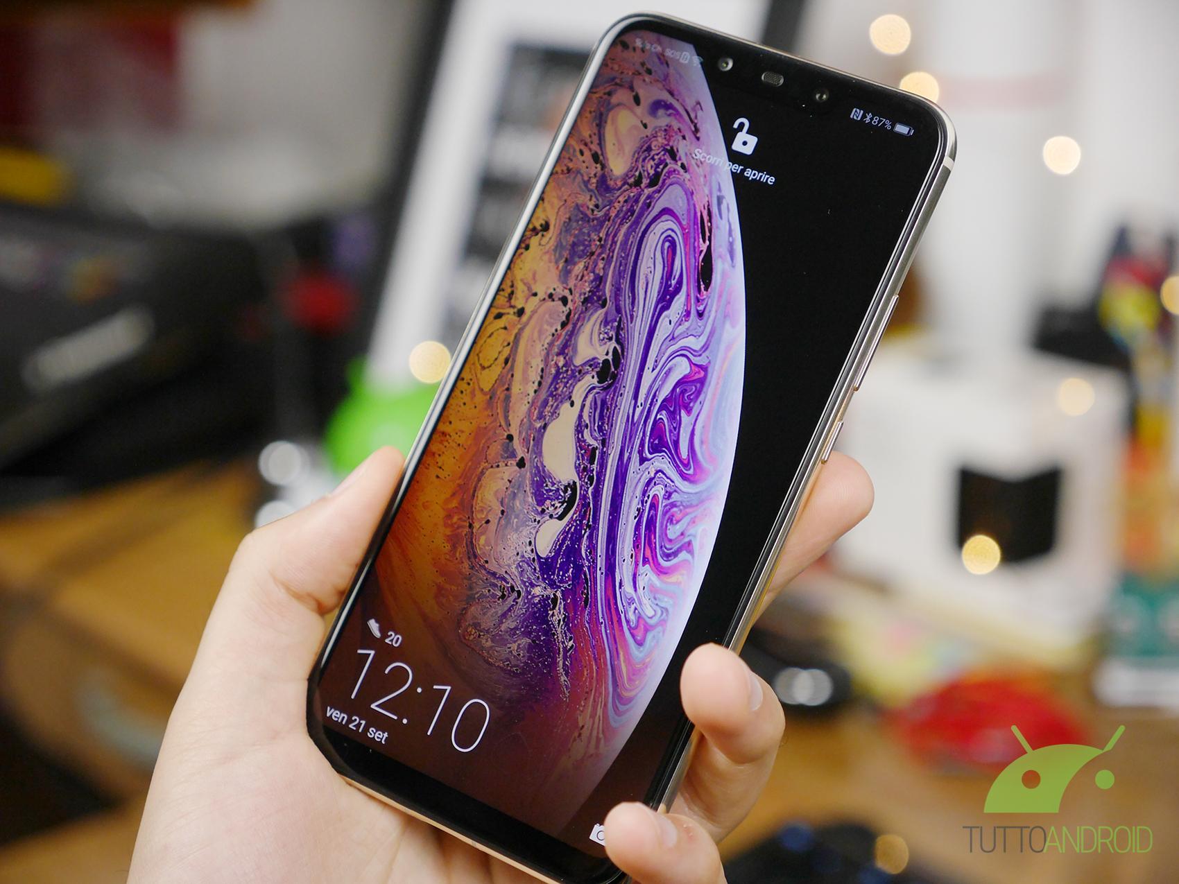 Trasformate Qualsiasi Smartphone Android In Un Iphone Xs Con Una