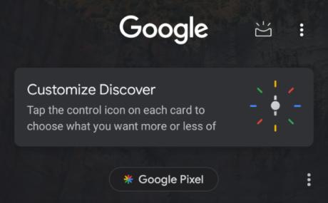 Google Discover dark 1