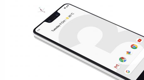 Google Pixel 3 XL aereo