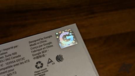 Le scatole dei prodotti Google 2018 hanno un'etichetta anti