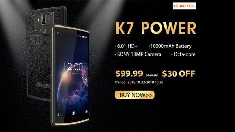 OUKITEL K7 Power presale