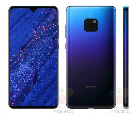 Rendere Huawei Mate 20 Twilight