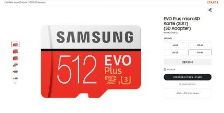 Samsung 512GB memory card 840x425