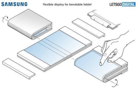 Samsungs presunto tablet pieghevole