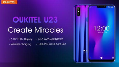 OUKITEL annuncia il suo flagship OUKITEL U23 con un design i