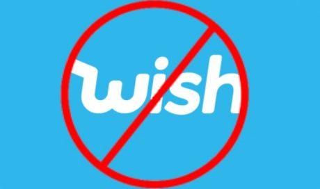 Wish Logo podvod nenakupovat