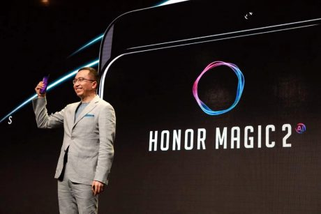 Honor Magic 2 avrà una CPU Kirin 980, una triplice fotocamer