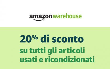 Amazon Warehouse offerta Black Friday