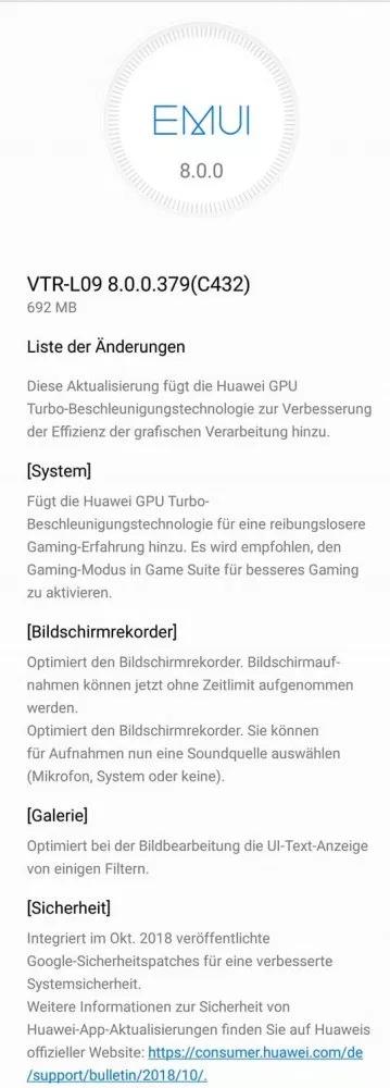Huawei P10 GPU Turbo